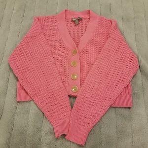 ASOS Cropped Button Up Cardigan